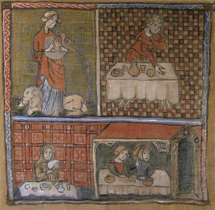 peintures medievales